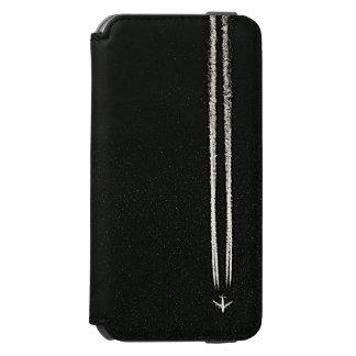 空または高度の飛行機の飛行機雲での上 INCIPIO WATSON™ iPhone 5 財布型ケース