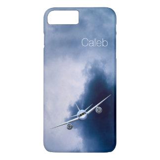 空パイロットの細いiPhoneのジェット機6 6Sと iPhone 8 Plus/7 Plusケース