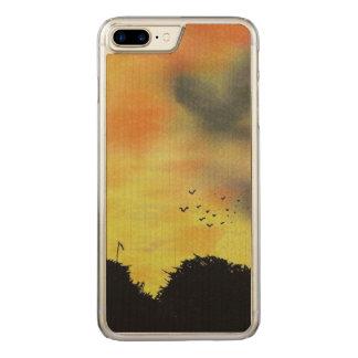 空マヤグエス CARVED iPhone 8 PLUS/7 PLUS ケース