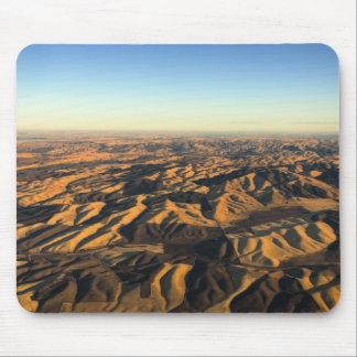 空中にからのWalla Wallaのワインの里 マウスパッド