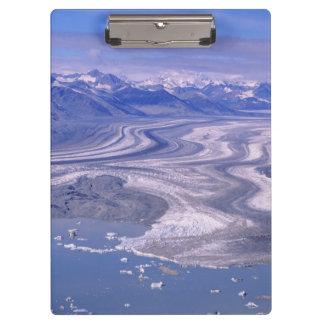 空中写真のローエルの氷河、Kluaneの国民 クリップボード