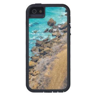 空中写真の太平洋の海岸線プエルトローペッツ iPhone SE/5/5s ケース