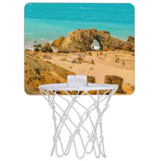 空中写真Pedra Furada Jericoacoaraブラジル ミニバスケットボールゴール