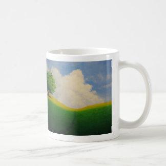 空想にふける地平線のマグ コーヒーマグカップ