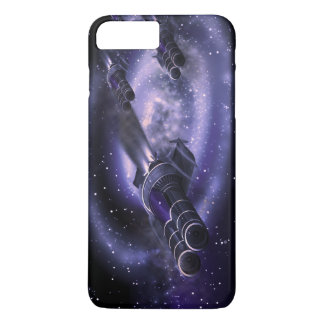 空想科学小説の宇宙船 iPhone 8 PLUS/7 PLUSケース