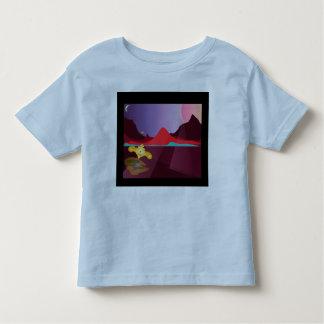 空想科学小説の幼児のワイシャツ トドラーTシャツ