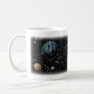 空想科学小説の惑星のマグ コーヒーマグカップ