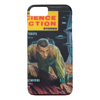空想科学小説の物語- 1958.09_Pulp芸術 iPhone 8/7ケース