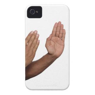 空手のスタンス2 Case-Mate iPhone 4 ケース