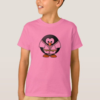 空手のペンギン-子供のTシャツ Tシャツ