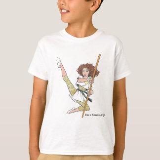 空手の天使のTシャツ Tシャツ