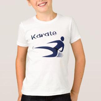 空手の男の子のTシャツ Tシャツ