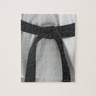 空手の黒帯 ジグソーパズル