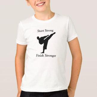 空手のTシャツ Tシャツ