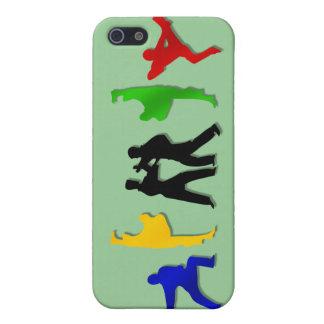 空手のTaekwando MMAの武道メンズアスリート iPhone 5 Cover