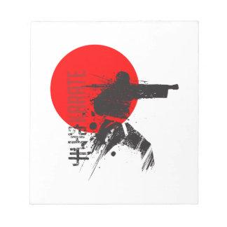 空手日本 ノートパッド