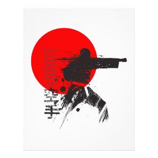 空手日本 レターヘッド