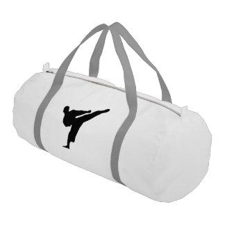 空手/テコンドーの蹴りの体育館のバッグ ジムバッグ