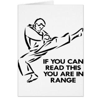 空手、MMAの範囲にあります カード