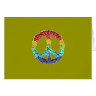 空手Katのグラフィックの平和 カード