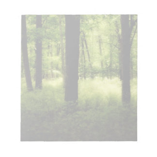 空気のような夏の森 ノートパッド