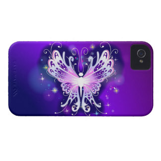空気のような蝶iphone 4ケース Case-Mate iPhone 4 ケース
