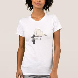 空気のヨガのTシャツ Tシャツ