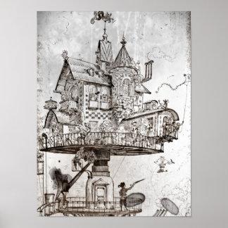 空気の家Maison Tournante ポスター