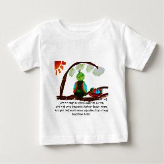 空気の鳥 ベビーTシャツ
