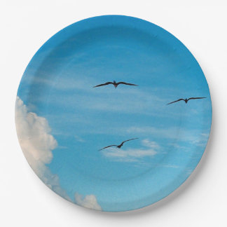 空気の鳥 ペーパープレート