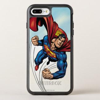 空気を通して速いスーパーマン オッターボックスシンメトリーiPhone 8 PLUS/7 PLUSケース