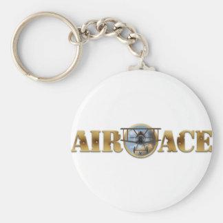 空気エースのロゴ キーホルダー