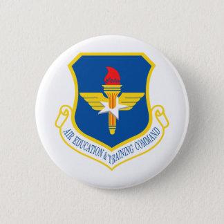 空気教育及び訓練命令記章 5.7CM 丸型バッジ