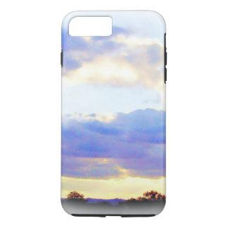 空気要素のSkyscapeのiPhoneの場合 iPhone 8 Plus/7 Plusケース