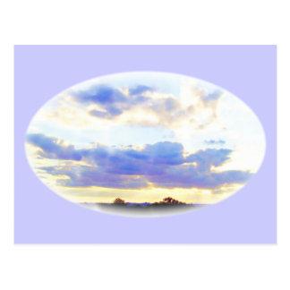 空気要素Skyscape ポストカード