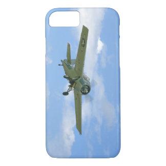 空気、Below_WWIIの飛行機のグラマンF4Fの山猫 iPhone 8/7ケース