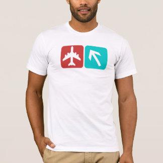 空港こうすれば Tシャツ