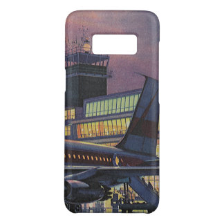 空港の飛行機のヴィンテージビジネス乗客 Case-Mate SAMSUNG GALAXY S8ケース