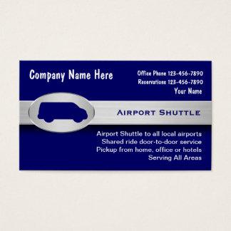 空港シャトルの名刺 名刺