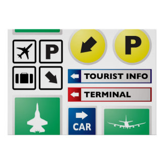 空港概念 ポスター