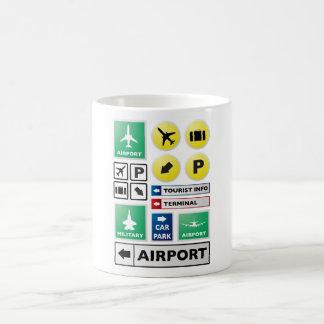 空港概念 モーフィングマグカップ