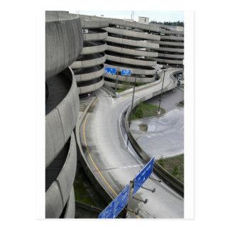 空港駐車構造 ポストカード