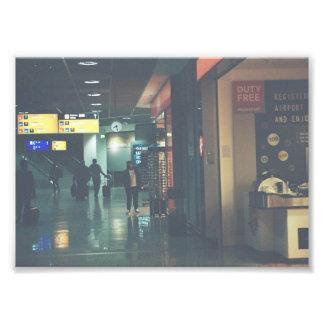 空港 フォトプリント