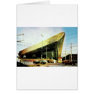 空港、博物館。.noちょうどtrainstation カード