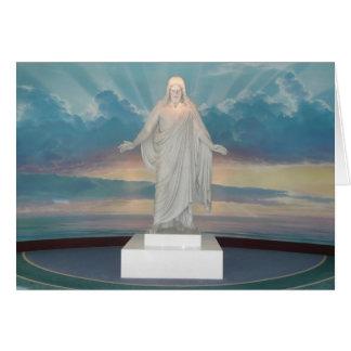 空白のなイエス・キリストカード カード