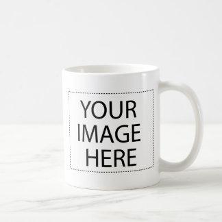 空白のなテンプレートはあなたのイメージや文字を加えます コーヒーマグカップ