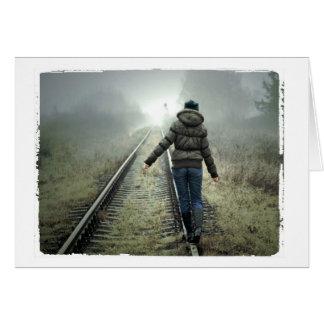 空白のな写真撮影カードカスタムな挨拶状 グリーティングカード