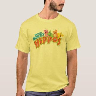 空腹で空腹なカバ Tシャツ