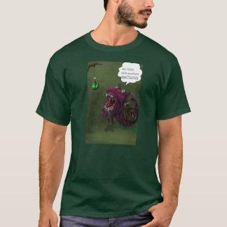 空腹なかたつむり Tシャツ