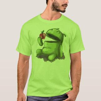 空腹なアンドロイド Tシャツ